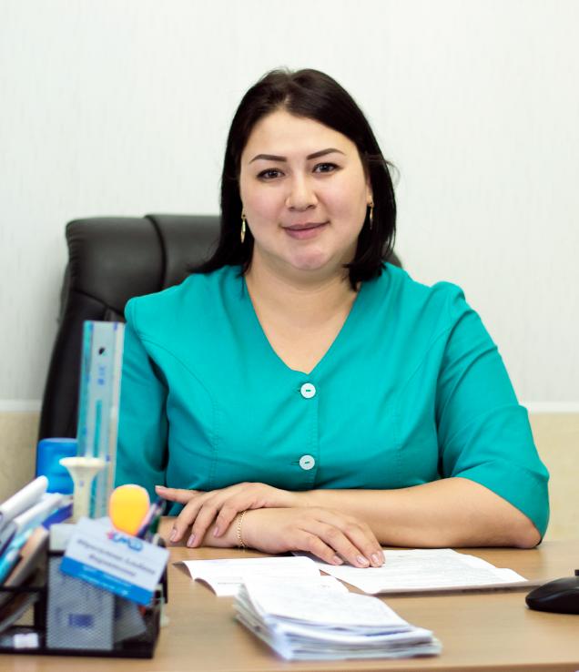 Ибрагимова Альбина Фархадовна